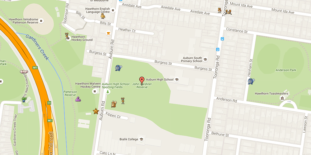 These Maps Show Exactly Where to Find Pokémon in Melbourne - Broadsheet